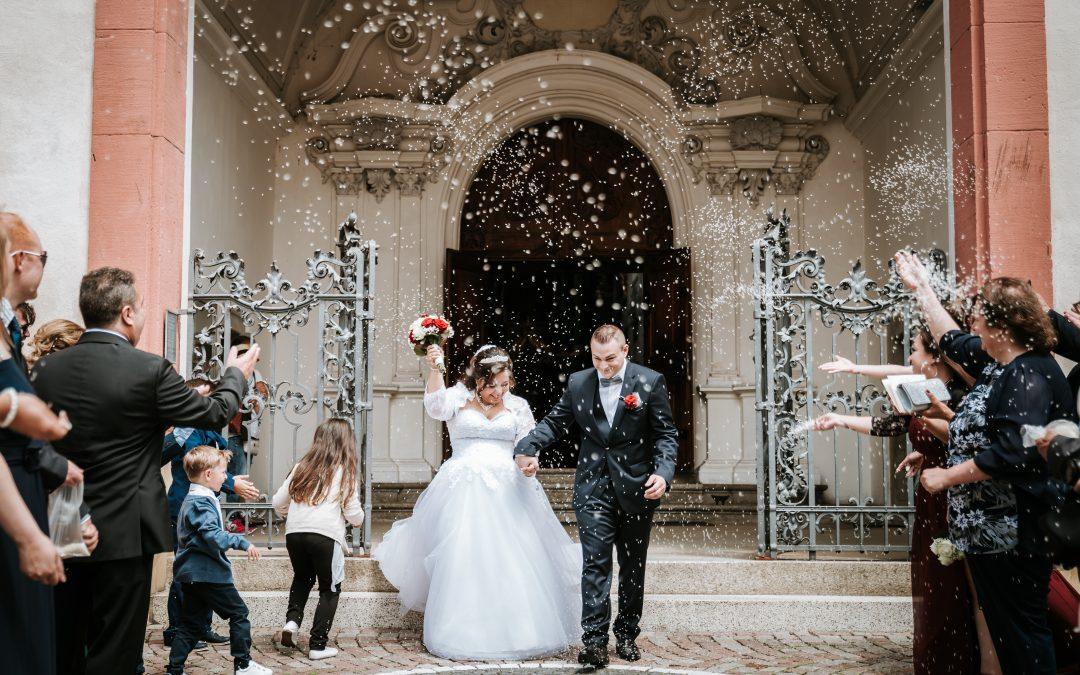 Hochzeit im Münster Bad Säckingen