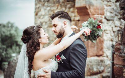 Heiraten in Lörrach – Italienische Hochzeit auf Burg Rötteln